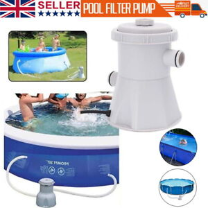 Swimming Pool Filter Pump Easy set Electric Flowclear 300 Gallon