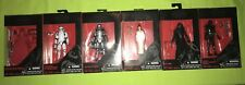Star Wars Black Series 3.75 Lot Princess Leia Organa Ceremony Walmart Exclusive