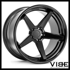 "19"" FERRADA FR3 BLACK CONCAVE WHEELS RIMS FITS NISSAN 350Z"