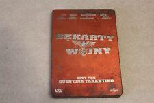 BĘKARTY WOJNY STEELBOOK EDITION DVD POLSKIE WYDANIE