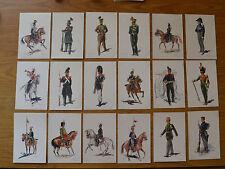 LOTTO 30 CARTOLINE MILITARE CARABINIERI BELGISCHE J. DEMART 1914 SUBALPINA HH