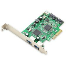 Syba Combo USB 3.0 SATA III 6gbps V2.0 PCI Express X4 Slot Controller Card M