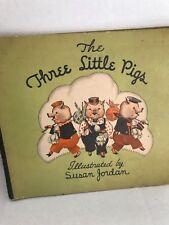 Three Little Pigs 1933 Illustrated by Susan Jordan Whitman Publishing