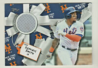 2019 Topps Holiday Mega GAME USED RELIC #WHR-DS DOMINIC SMITH Mets RETAIL