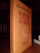 SOPHIA et l' Ame du Monde.  Autori vari  1983