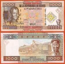 P43   Guinea     1000  C-Francs   2010  Comm.  UNC