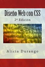 NEW Diseño Web con CSS: 2ª Edición (Spanish Edition) by Alicia Durango