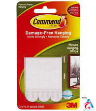 3M Command Damage-Free Medium Picture Hanging Strips