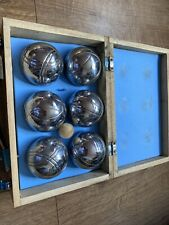 Traditional french boules set