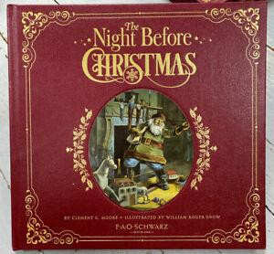 The Night Before Christmas, FAO Schwarz Book, Keepsake Premier Edition, NEW