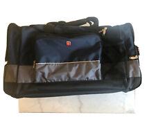 "NWT SWISS GEAR 28"" Sport Duffel Bag Blue/Gray Travel/Gym/Multi-Purpose SA9000"