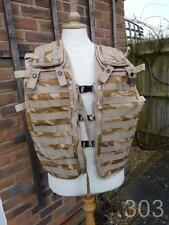 British Military Army Molle Tactical Load Carrying Vest, Paintballing, Airsoft