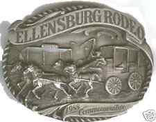 1988 Ellensburg Rodeo Commemorative Belt Buckle