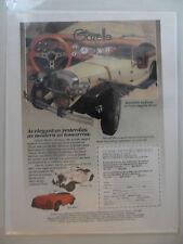 1983 Print Ad Gazelle Classic Motor Carriages Die-Cast Car Automobile Model