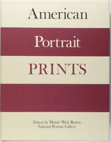 Book: American Portrait Prints - 10th American Print Congress Research Papers