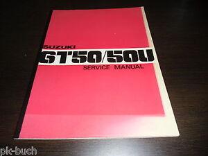 Manual de Operación Servicio Suzuki Gt 50/50 Y Stand 07/1977