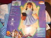 Dorothy Wizard of Oz Blue Checked Dress/Bow Sz 2-4/New
