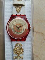 "Reloj Swatch Standard Caballero Modelo ""Honor "" Gr 124 Año 1995 Nuevo Raro"