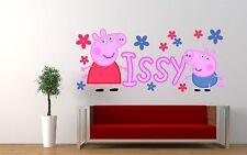 Peppa Pig Nursery Wall Decals & Stickers for Children