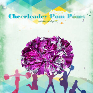 Cheerleading Pom Poms Set Sports Party Dance Party Competition Accessories NEW