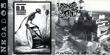 POISONED SCROTUM / N.N. - CD 2002 ITALY vs ARGENTINA crust grindcore PERFECT M/M