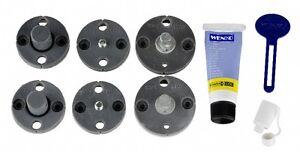 WENKO Power-Loc Ersatz-Set 8-teilig, Befestigen ohne bohren 17982100