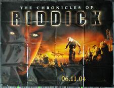Chronicles Of Riddick 2004 Orig 46X60 Subway Movie Poster Vin Diesel Judi Dench