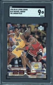 1998-99 Upper Deck #147 Michael Jordan vs. Kobe Bryant Jordan Files SGC 9 Mint