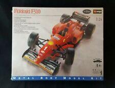 Testors Burago Ferrari F310 Formula One 1:24 Scale Diecast Metal Model Kit Red