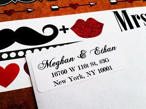 Wedding Return Address Labels, Invitation Address Labels, Guest Address Labels