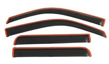 AVS 4-Pc In-Channel Vent Visors - 09-14 Ford F-150 SuperCrew - 194155