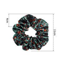 Fashion Sexy Leopard Print Hairline Ponytail Holder Scrunchie Elastic Hair Ring
