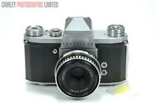 Praktika IV Camera w/ Tessar 2.8 50mm Lens. Graded: EXC- [#8934]