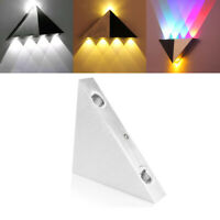 3W Modern LED Wall Light Lamp Restroom Wall Sconce Lamp Fixture Multicolor