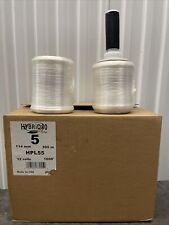 Stretch Film Hand Stretch Wrap HPL55 Case Of 12 Roll W/ 1 Handle 5