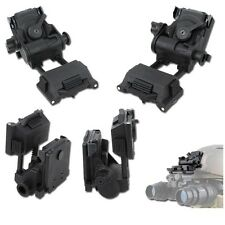 L4 G24 NVG Mount Black FMA Military Airsoft Softair PVS SUPPORTO VISORE TB1012BK