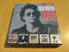 Sealed 5 CDs LOU REED ORIGINAL BERLIN TRANSFORMER CONEY ISLAND SALLY CANT DANCE