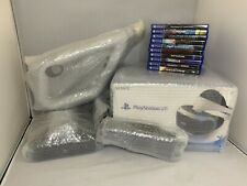 Sony PlayStation VR Virtual Reality (PSVR) Core Bundle with Extras - Complete!!!