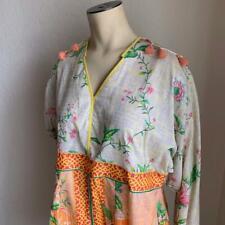 THREDZ Kurta Floral Woman's Dress  & Leggings Size Large NWT $55
