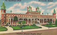 The Oglethorpe Hotel in Brunswick GA Postcard