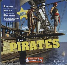 Coffret / livre/ jeux enfant - neuf sous blister - Les Pirates