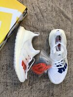 Adidas Ultra Boost 1.0 Undefeated Stars and Stripes White Red EF1968 Size 5