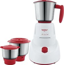Maharaja Whiteline Livo MX-151 500-Watt Mixer Grinder - 3 Jars (Red) - Bill