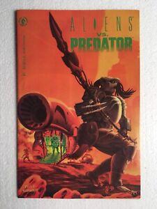 Aliens vs Predator 1, 1st app. of Mashiko Naguchi, Pin-up by Phill Norwood, 9.8