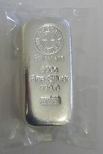 500 gr Silberbarren Argor Heraeus Feinsilber 999