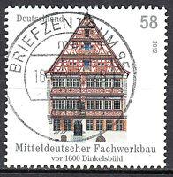 2970 Vollstempel gestempelt Briefzentrum 95 BRD Bund Deutschland Jahrgang 2012