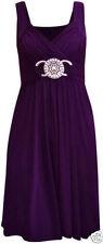 New Women Ladies Short Buckle Evening Prom Maxi Bridesmaid Dress Plus Size 8-26