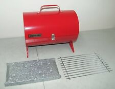 New Nos Rare Vtg Royal Chef Little Pig Portable Bbq Grill Made In Usa