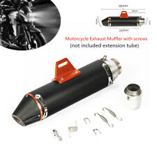 38-51mm Motorcycle Cafe Racer Modified Exhaust Muffler Pipe Silencer Accessory