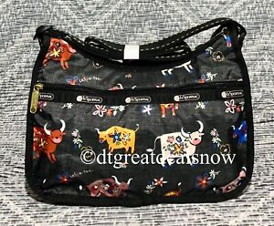NEW LeSportsac Classic Hobo Bag Happy Ox Year of the OX 7520 F817